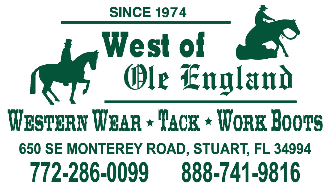 West of Ole England Tack